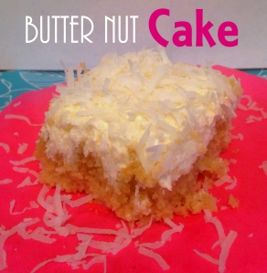 Butter Nut Cake