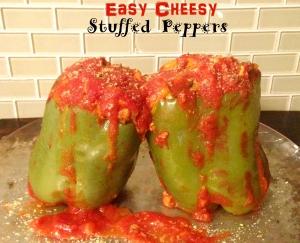 Easy Cheesy Stuffed Peppers