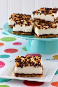 Frozen Smores Bar - Pint Sized Baker