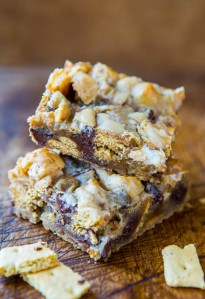 Loaded Smores Bars - Averie Cooks