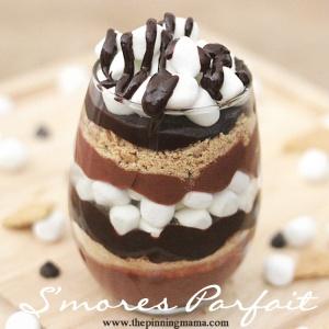 Smores Parfait - The Pinning Mama