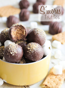 Smores Truffles - High Heels and Grills