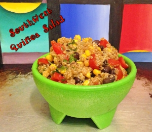 Southwest Qunioa Salad