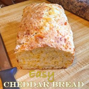 Easy Cheddar Bread