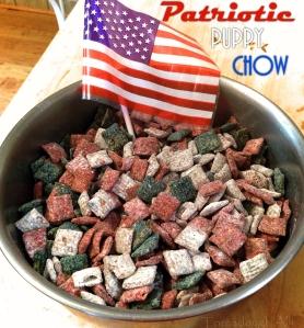 Patriotic Puppy Chow 2