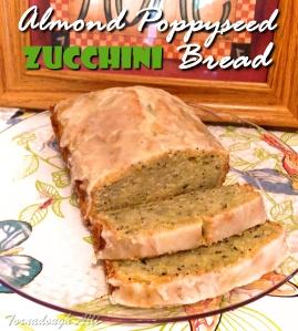 Almond Poppyseed Zucchini Bread